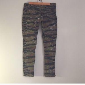 Denim & supply camo skinny jeans size 31